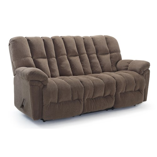 Morris Home Furnishings Lucas Casual Plush Power Reclining Sofa with Full-Coverage Chaise Legrest