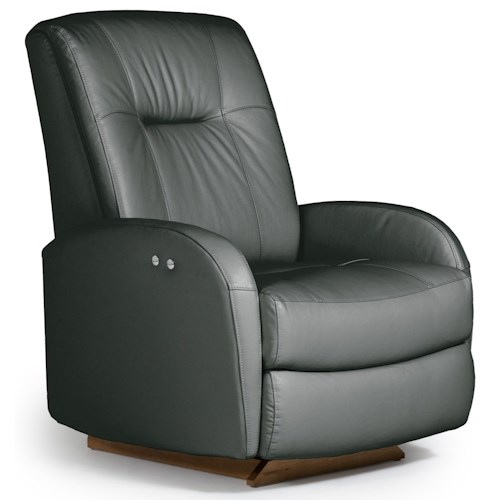 Best Home Furnishings Recliners - Medium Ruddick Power Space Saver Recliner