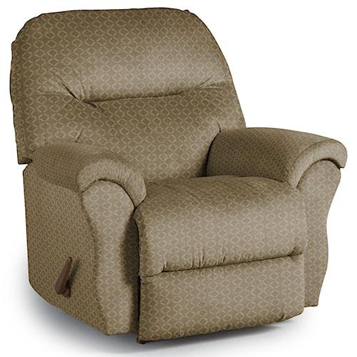 Best Home Furnishings Recliners - Medium Bodie Wallhugger Reclining Chair