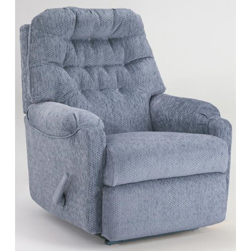 Vendor 411 Recliners - Medium Power Rocker Recliner