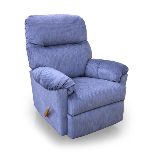 Best Home Furnishings Recliners - Medium Balmore Swivel Rocking Reclining Chair