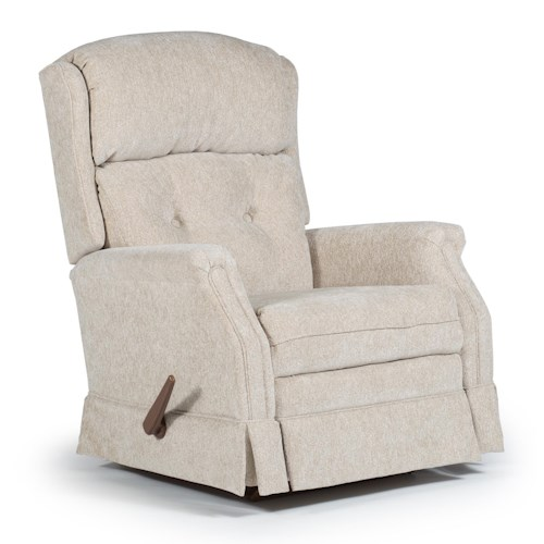 Best Home Furnishings Recliners - Medium Kensett Swivel Glider Recliner