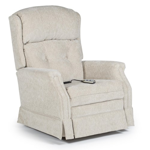 Best Home Furnishings Recliners - Medium Kensett Power Space Saver Recliner
