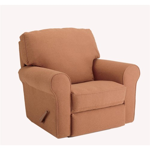 Best Home Furnishings Recliners - Medium Irvington Power Rocker Recliner