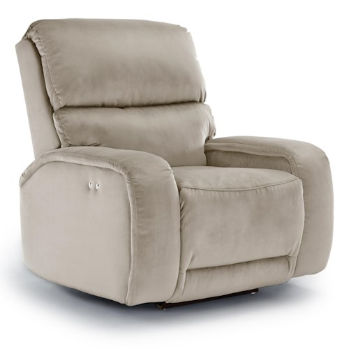 Vendor 411 Recliners - Medium Matthew Power Space Saver Recliner with Memory Foam Cushion