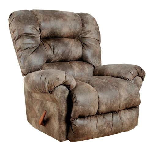Best Home Furnishings Recliners - Medium Seger Rocking Reclining Chair