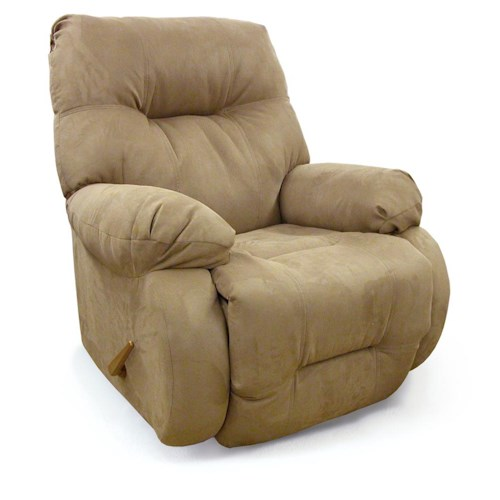Best Home Furnishings Recliners - Medium Brinley Swivel Rocking Reclining Chair