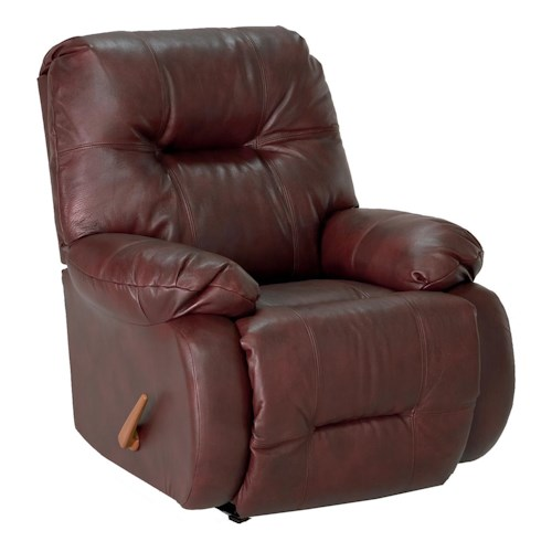 Best Home Furnishings Recliners - Medium Brinley Swivel Glider Reclining Chair