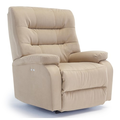 Best Home Furnishings Recliners - Medium Liam Swivel Glider Recliner