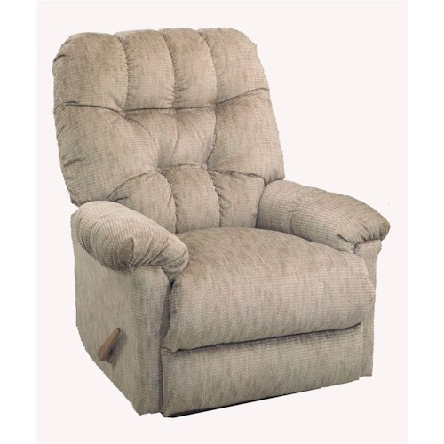 Best Home Furnishings Recliners - Medium Raider Swivel Glider Recliner
