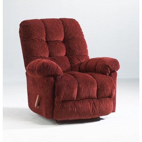 Best Home Furnishings Recliners - Medium Brosmer Swivel Glider Recliner with Massage and Heat