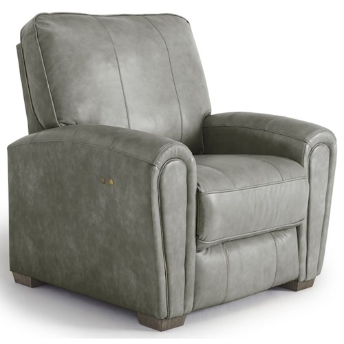 Best Home Furnishings Miriam Casual Power Space Saver Recliner