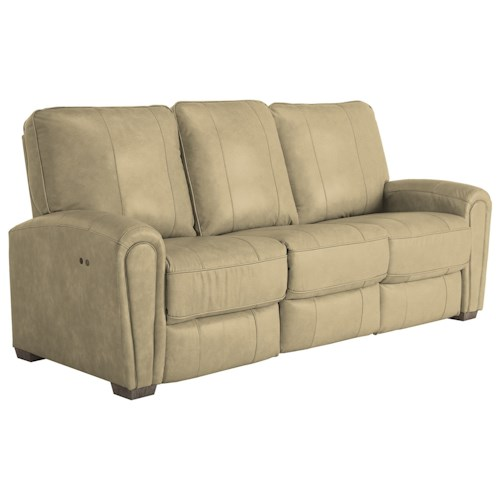 Best Home Furnishings Miriam Casual Power Reclining Space Saver Sofa