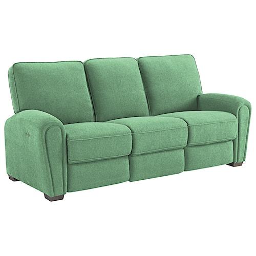 Best Home Furnishings Miriam Casual Power Reclining Space Saver Sofa