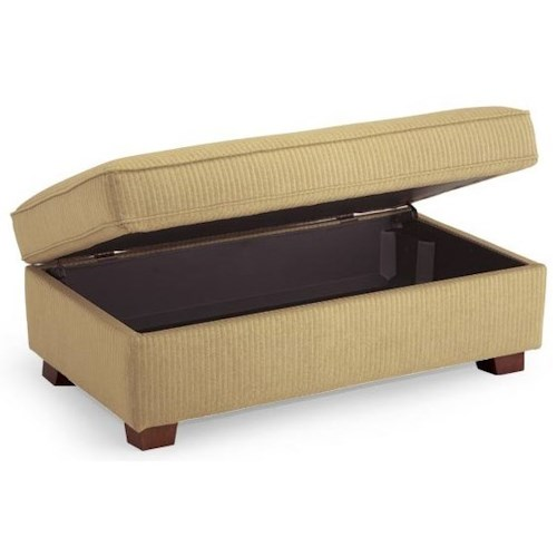 Vendor 411 Ottomans Lift Top Storage Ottoman