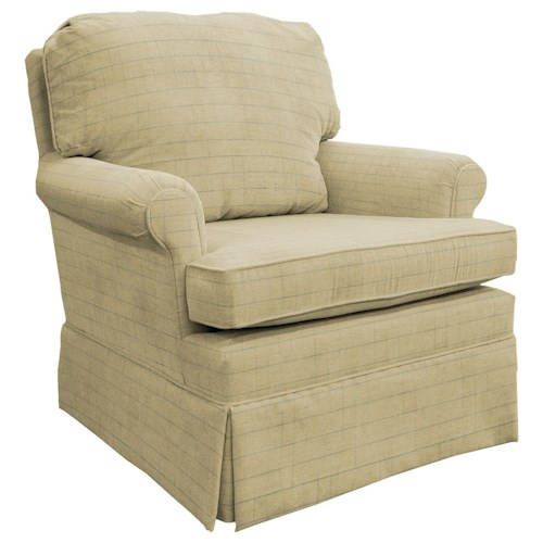 Best Home Furnishings Patoka Comfortable Glider Club Chair