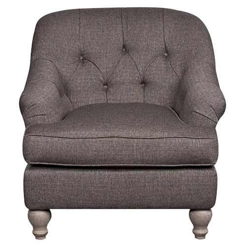Morris Home Furnishings Penelope Upholstered Chair
