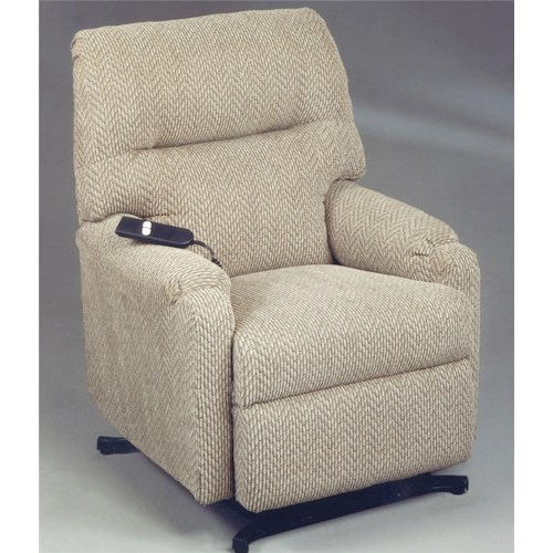 Best Home Furnishings Recliners - Petite JoJo Power Lift Recliner with Remote