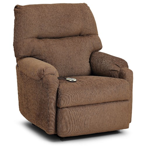 Morris Home Furnishings Recliners - Petite JoJo Power Lift Recliner with Remote