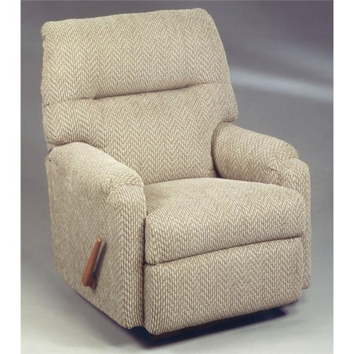 Vendor 411 Recliners - Petite JoJo Recliner Rocker with Rolled Arms