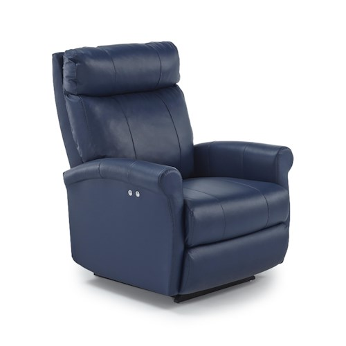 Vendor 411 Recliners - Petite Space Saver Wall Recliner with Rolled Arms