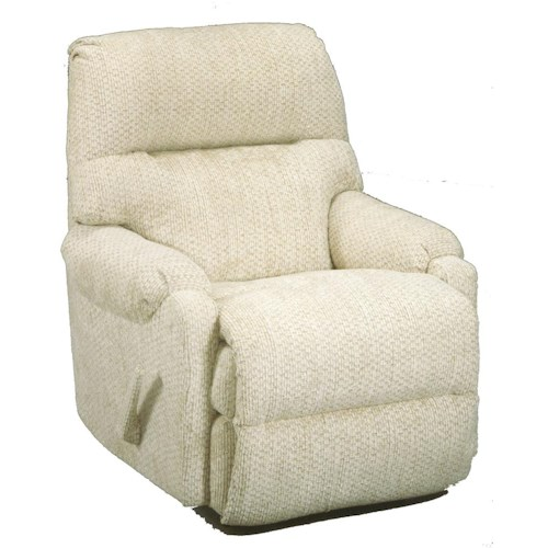 Best Home Furnishings Recliners - Petite Cannes Swivel Rocking Reclining Chair