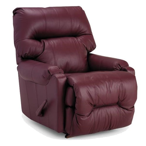 Best Home Furnishings Recliners - Petite Dewey Rocker Recliner