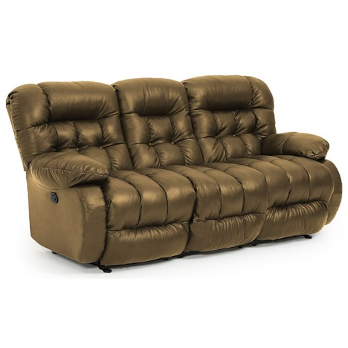 Best Home Furnishings Plusher Power Space Saver Reclining Sofa