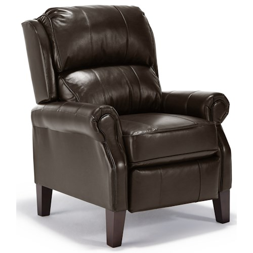 Best Home Furnishings Recliners - Pushback Push Back Recliner with Rolled Arms