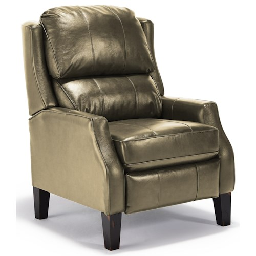 Best Home Furnishings Recliners - Pushback Pauley Pushback Recliner