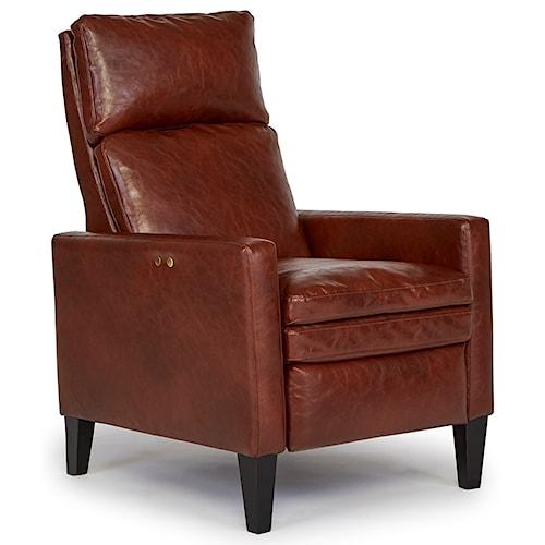 Best Home Furnishings Pushback Recliners Myles High Leg Recliner