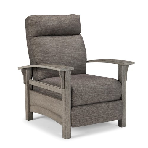 Vendor 411 Recliners - Pushback Graysen Pushback High Leg Recliner