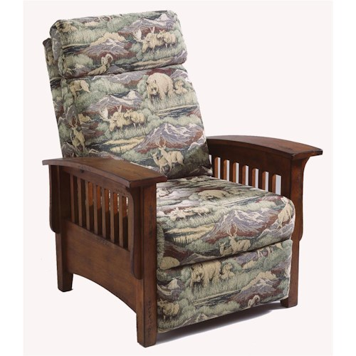 Morris Home Furnishings Recliners - Pushback Tuscan Pushback Recliners