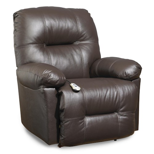 Morris Home Furnishings S501 Zaynah Casual Swivel Rocker Recliner