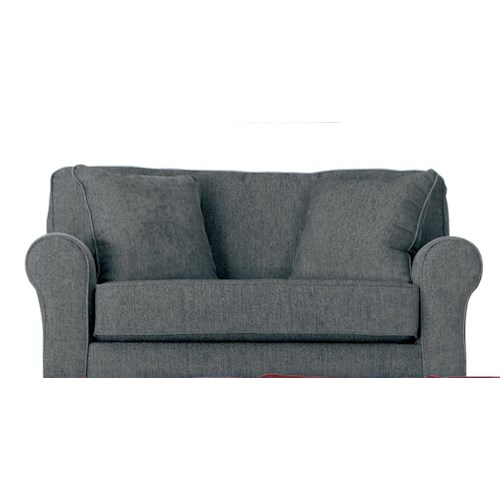Morris Home Furnishings Shannon Twin Sofa Sleeper with Air Dream Mattress