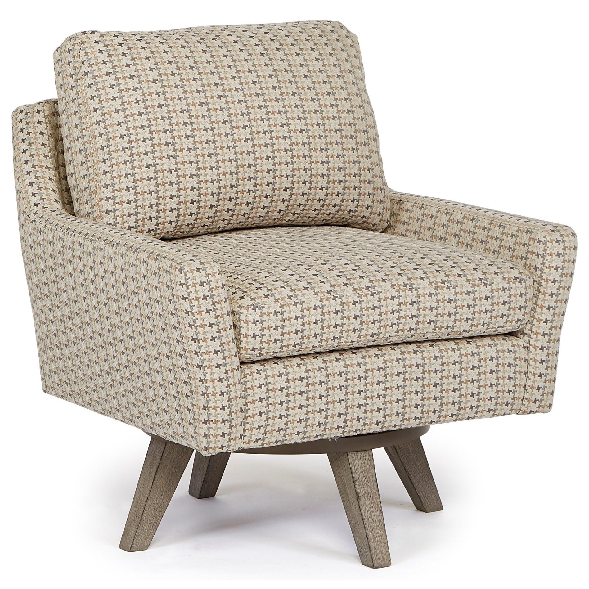 Best Home Furnishings Chairs - Swivel Barrel Seymour Swivel Chair
