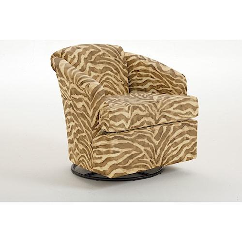 Vendor 411 Chairs - Swivel Barrel Cass Swivel Barrel Chair