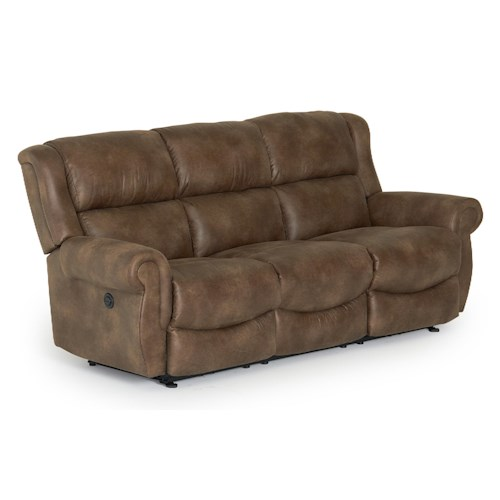Best Home Furnishings Terrill Transitional Space Saver Reclining Sofa