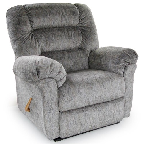Best Home Furnishings Recliners - The Beast Troubador Rocker Recliner