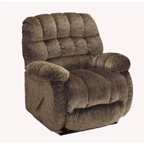 Morris Home Furnishings Recliners - The Beast Roscoe Beast Rocker Recliner