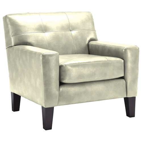 Best Home Furnishings Treynor Contamporary Club Chair with Tufting