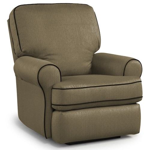 Best Home Furnishings Tryp Wallhugger Recliner with Inside Handle