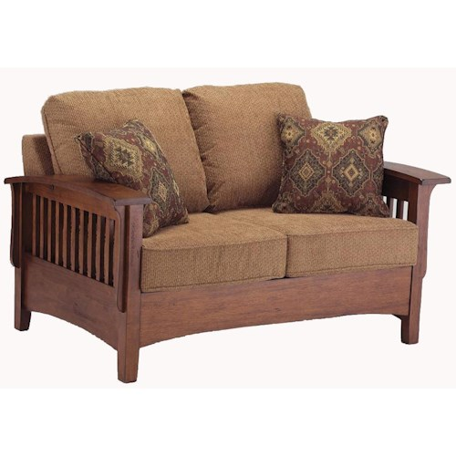 Morris Home Furnishings Westney Upholstered Love Seat