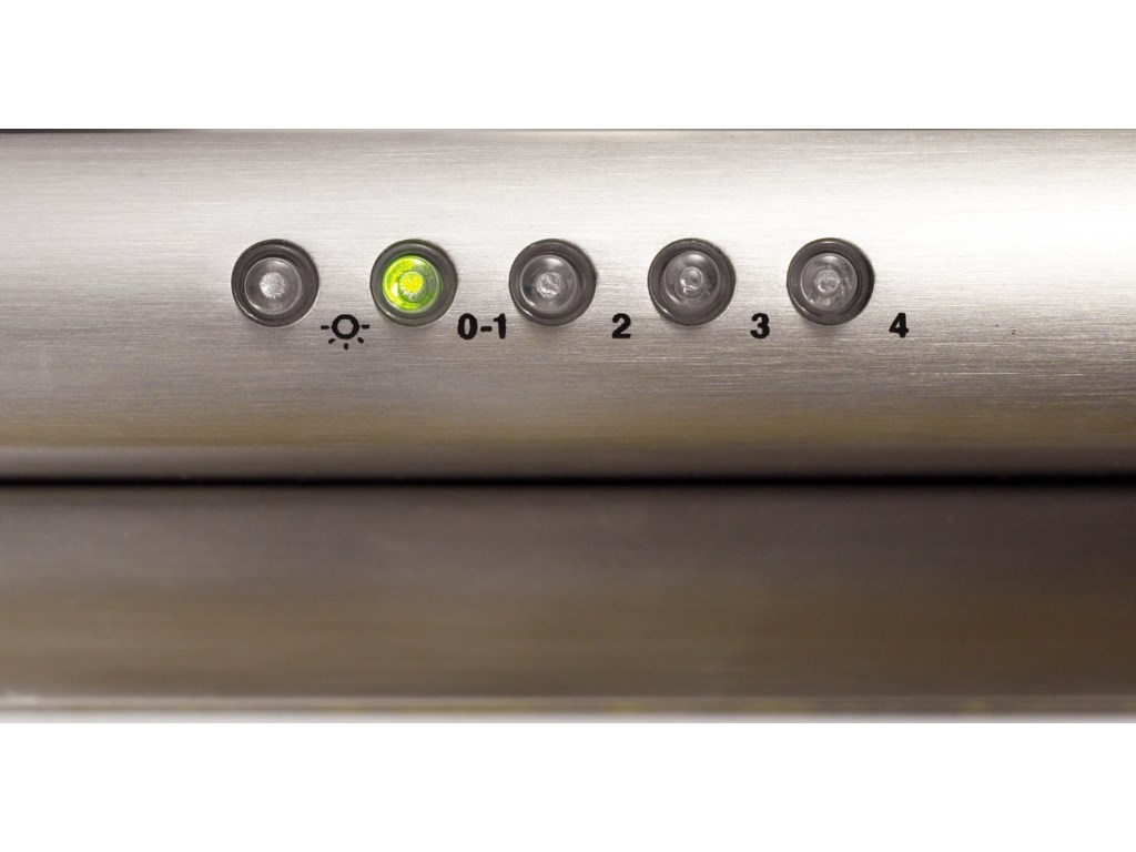Elegant 4-Speed Push Button Electronic Controls
