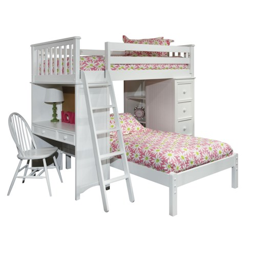 Bolton Mulberry -- Twin Bunk Bed *Chair Sold Separately