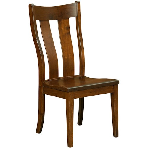 Borkholder Dining Chairs Richfield Side Chair with Contoured Back