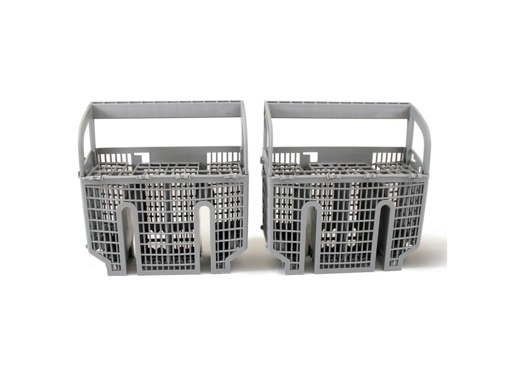 Flexible Silverware Basket Can be Split into 2 Pieces & Placed Anywhere