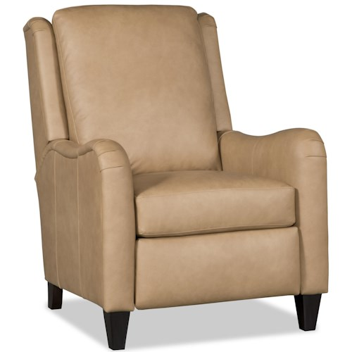 Bradington Young Chairs That Recline Calvin High Leg Recliner with English Arms