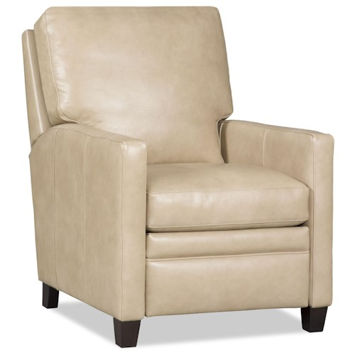 Bradington Young Donnelly Contemporary High Leg Recliner with Track Arms
