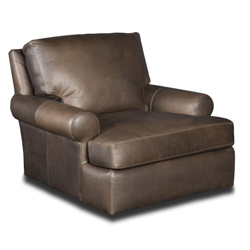 Bradington Young Irrina Casual Leather Chair